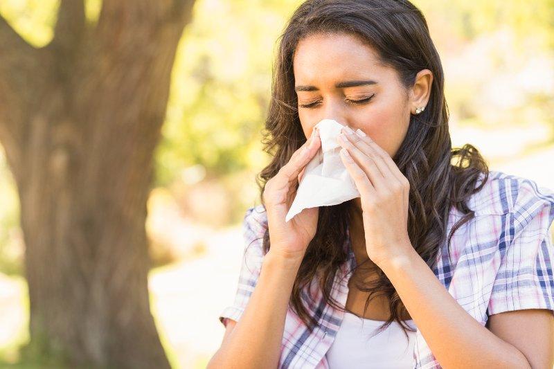 Pollen-Allergie-Heuschnupfen